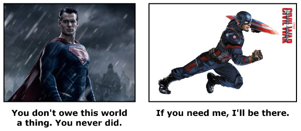 captainvsuperman